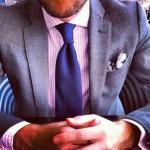 ネクタイのディンプルをつくるのは難しい? 綺麗にえくぼをつくるコツをお教えします