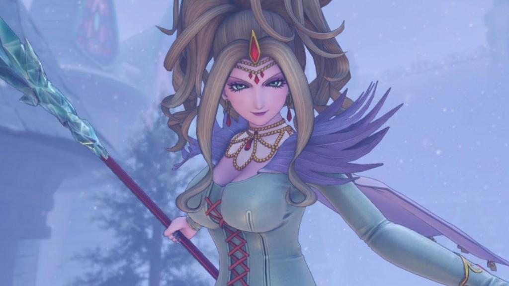 ドラクエ11氷の魔女リーズレット高画質壁紙待ち受け画像