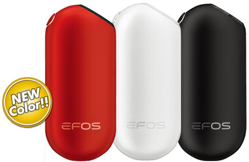 EFOSはレッド、ヒワイト、ブラックの3カラー